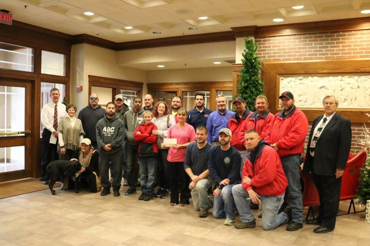 Seward Volunteer Fire Department Donation